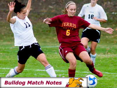 Ferris State Women's Soccer Notes - Matches 6-7