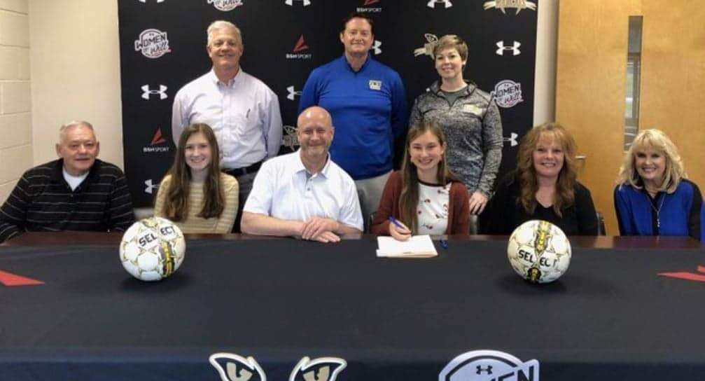 Women's Soccer Signs Valdese, NC Native Bartlett