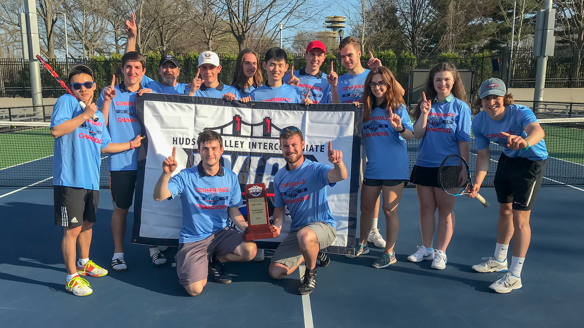 Webb Stuns Culinary to Capture Men's Tennis Championship