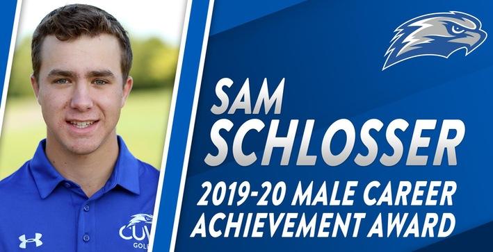 Schlosser named Male Career Achievement Award winner