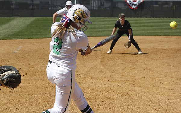Wilmington Softball Stymied, 3-0 and 4-2, at Dominican in Matchup of CACC Leaders