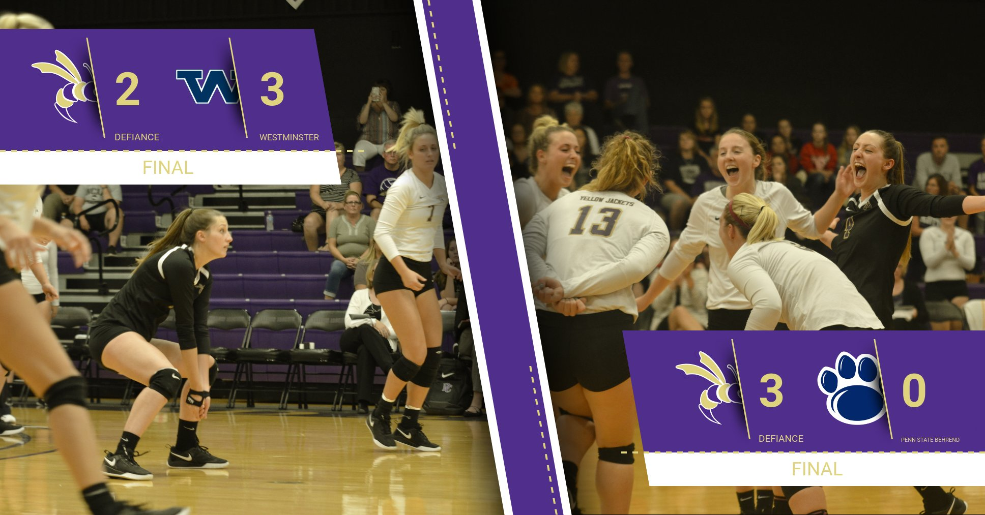 Volleyball Responds with a Sweep in Friday Night Action