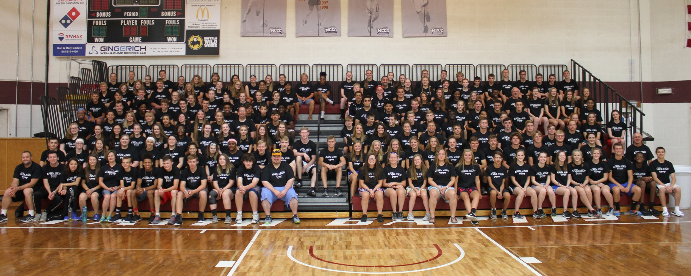 Record Turnout Highlights Great Week at Faith Eagles Sports Camp