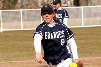 Brandeis softball goes 5-3 to finish second in UAA, best since 1999