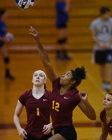 Volleyball falls to No. 16 Mary Washington