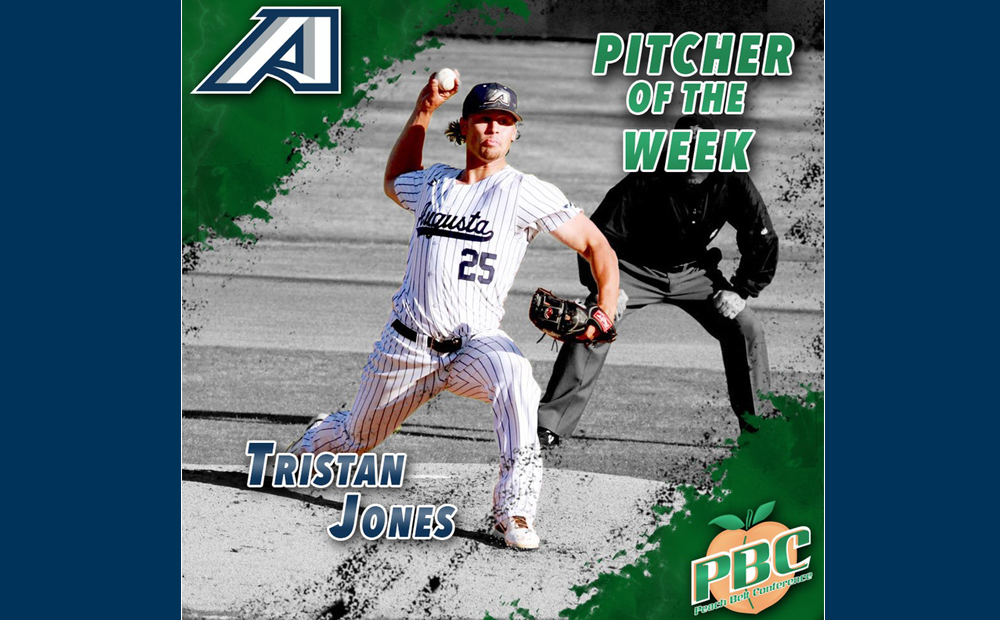 Senior Tristan Jones Earns Second PBC Pitcher Of The Week Award Of His Career