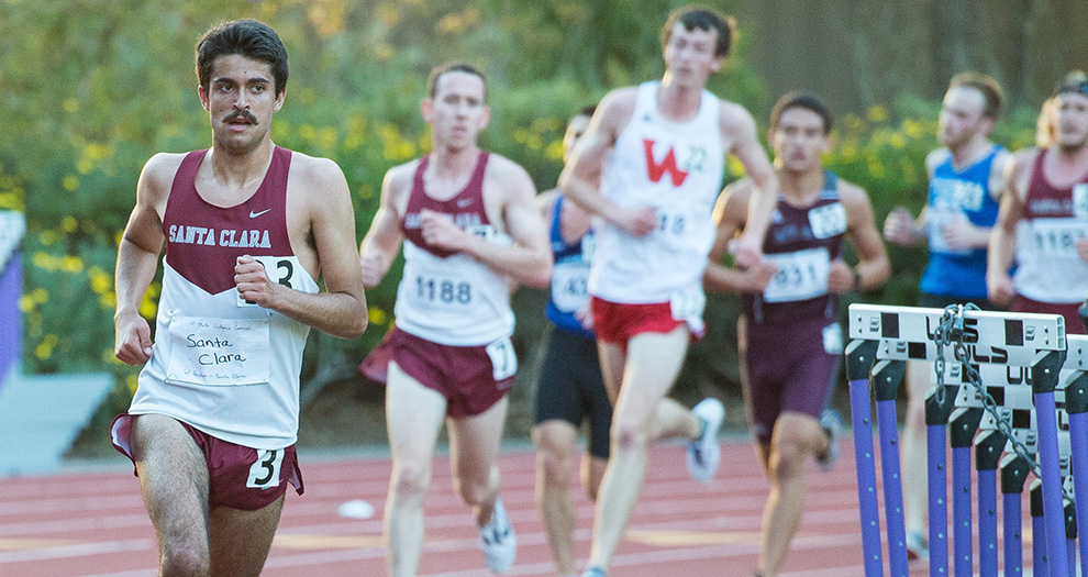 Wilder Boyden ran one of Santa Clara's top races in Los Angeles with a 5,000-meter personal best.