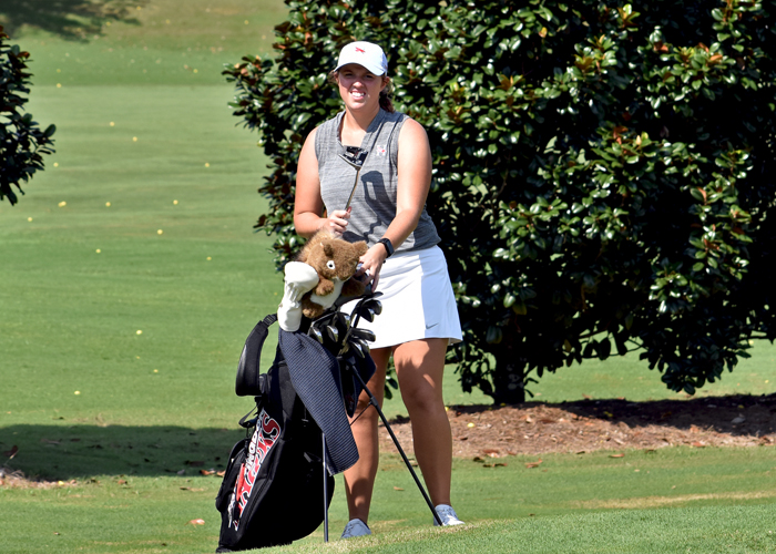Women's golf ties for 5th in Callaway Gardens Invitational