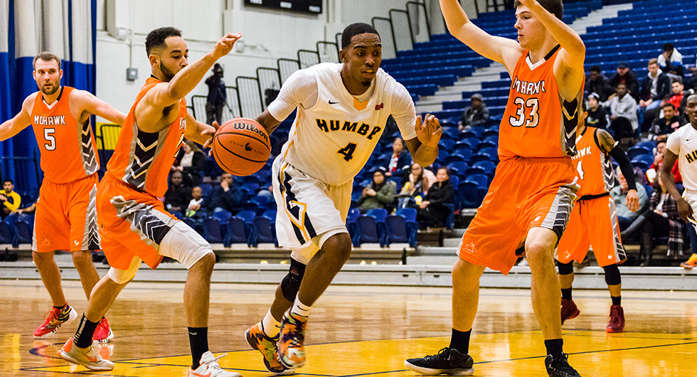 MEN'S BASKETBALL HEAD TO MOHAWK TUESDAY