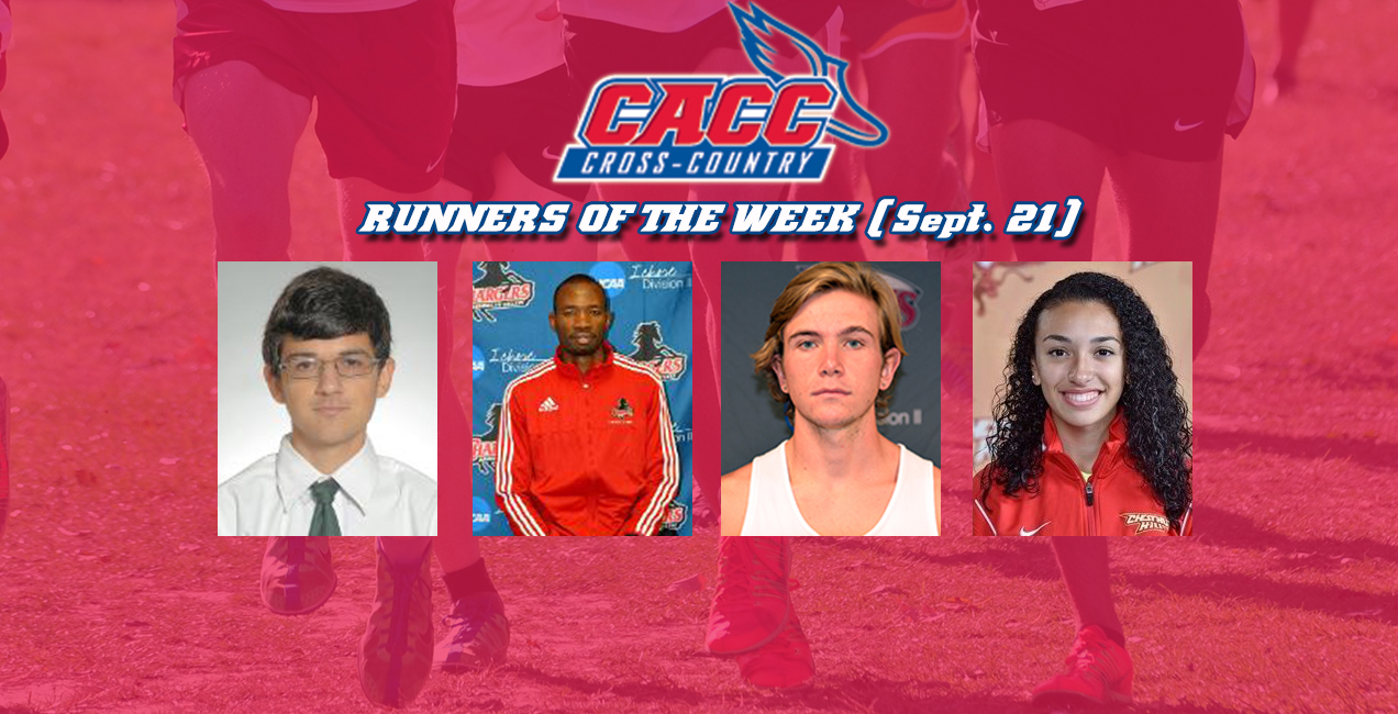 CACC Cross Country Weekly Release #3 (Sept. 21, 2015)