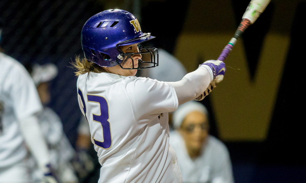 SOFTBALL SIGNS WASHINGTON TRANSFER AND LOCAL PRODUCT KRYSTAL AUBERT
