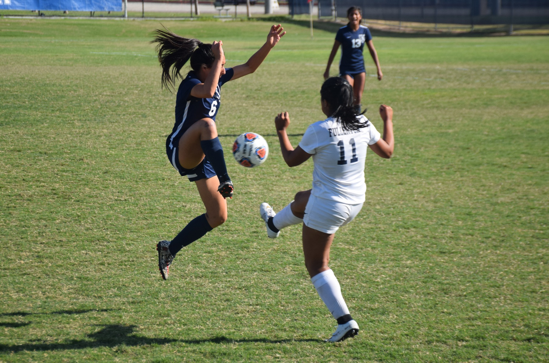 Women's soccer team battles for 2-2 tie at Cypress