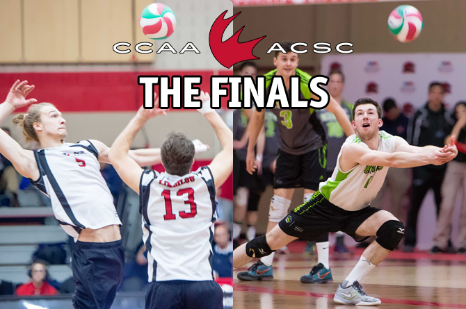 2017 CCAA Men's Volleyball: The Finals