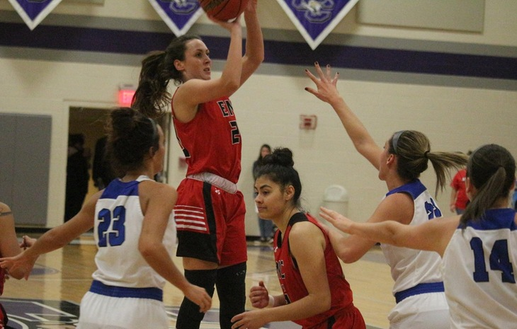 Women's Basketball Knocks Off Newbury in NECC Opener
