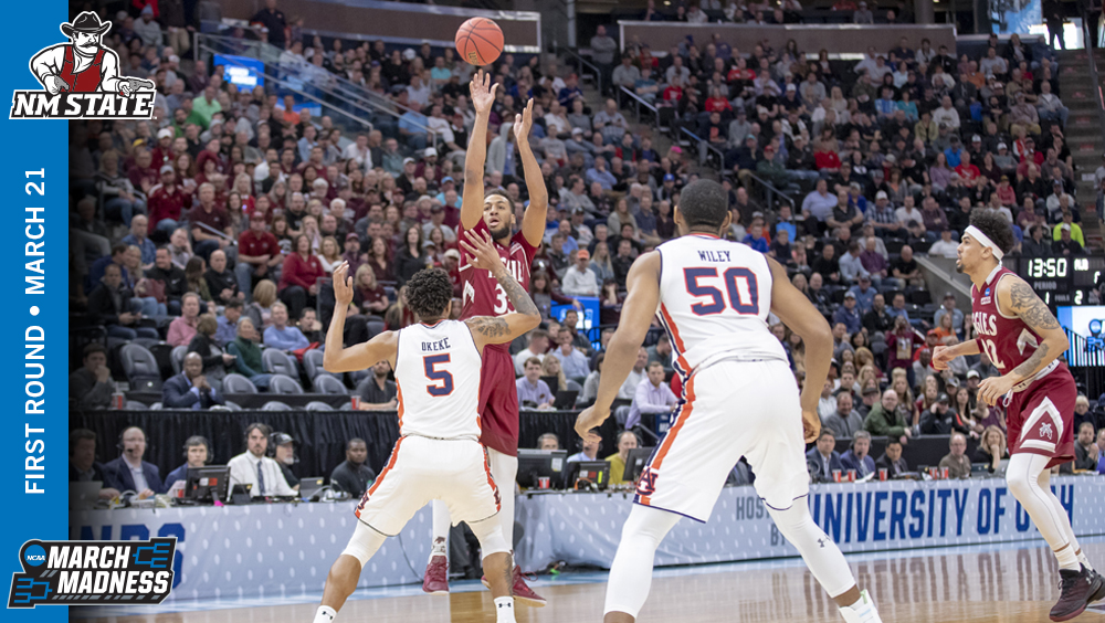 NM State Drops Heartbreaker to Auburn in NCAA Tournament