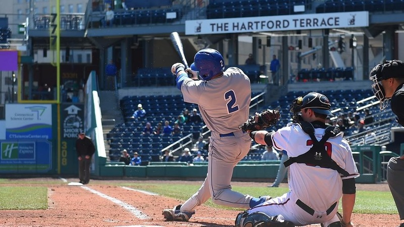 Baseball Slugs Three Homers in 9-6 Win at Quinnipiac on Wednesday
