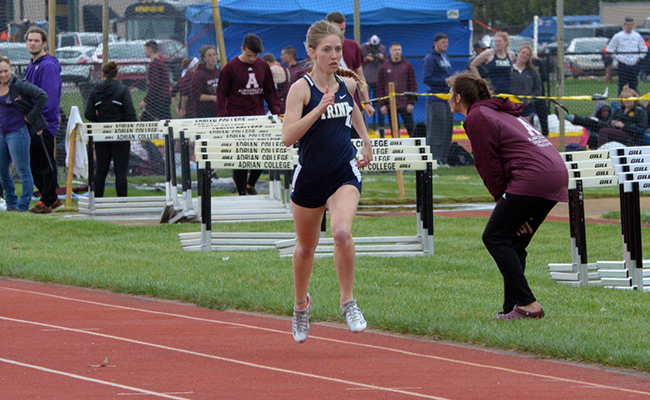 Trine Women Compete at Gina Relay