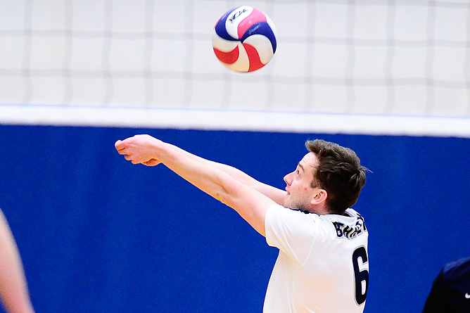 Men's Volleyball Downs D'Youville