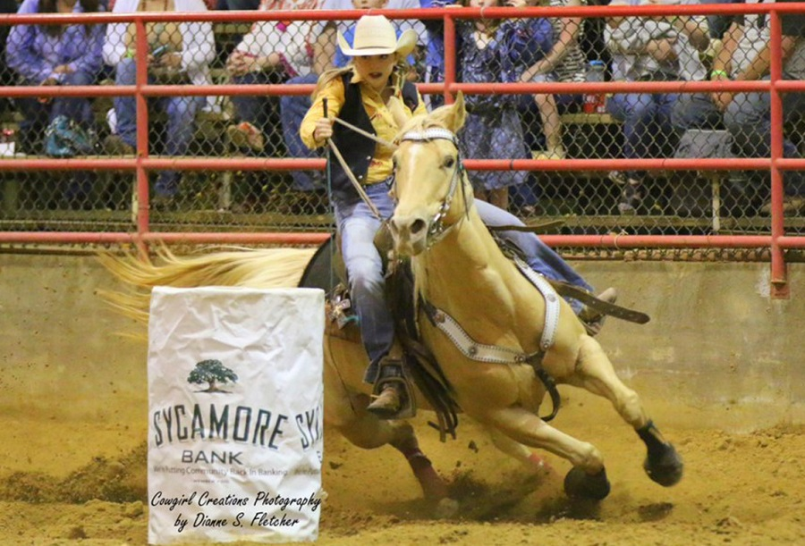 EMCC barrel racer Carli Hodges set for College National Finals Rodeo in Casper, Wyoming