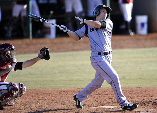 Baseball hangs on for 5-3 win over RU