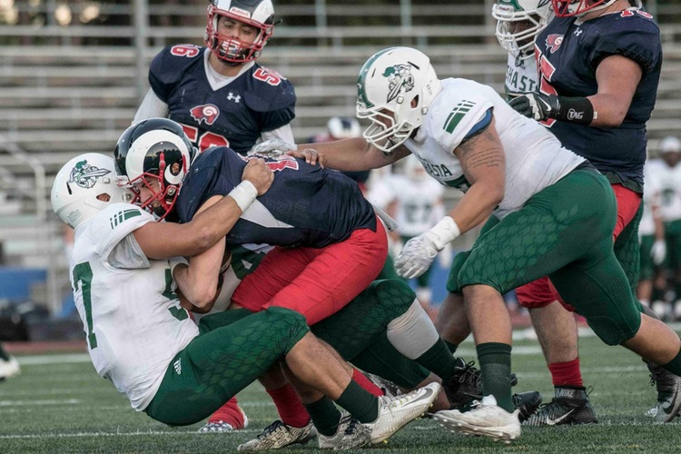 Shasta buries winless Gavilan 37-11. Photo by Mike Daly.