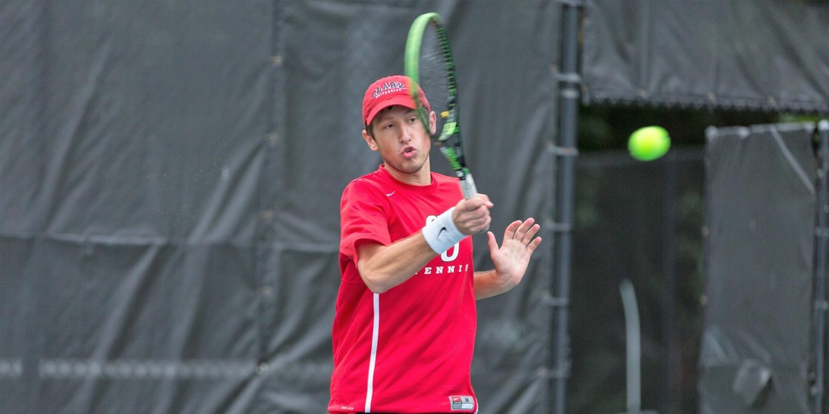 Men's Tennis Falls in Close Match-up with Wabash, 5-4