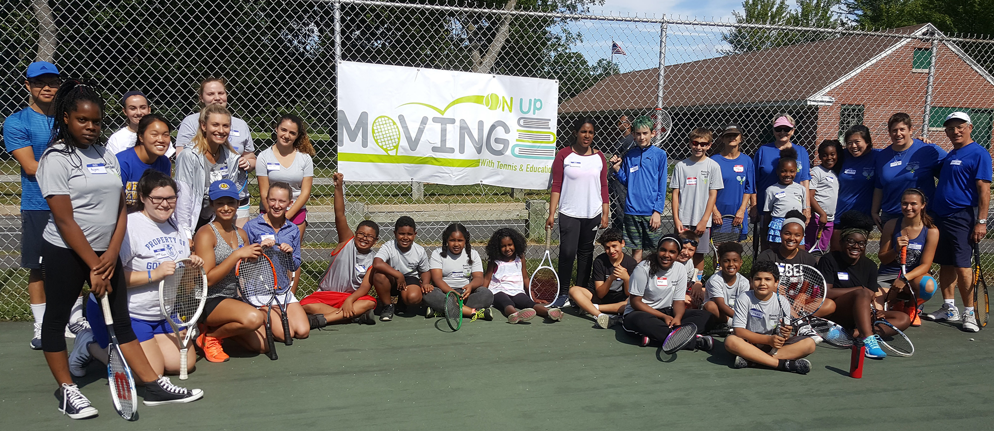 "MASSLIVE: ""Moving on Up program again offering free tennis lessons to young people"""