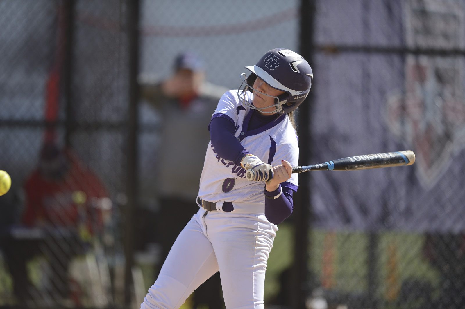Purple Knights Swept In ECC Softball Play By Red-Hot Molloy
