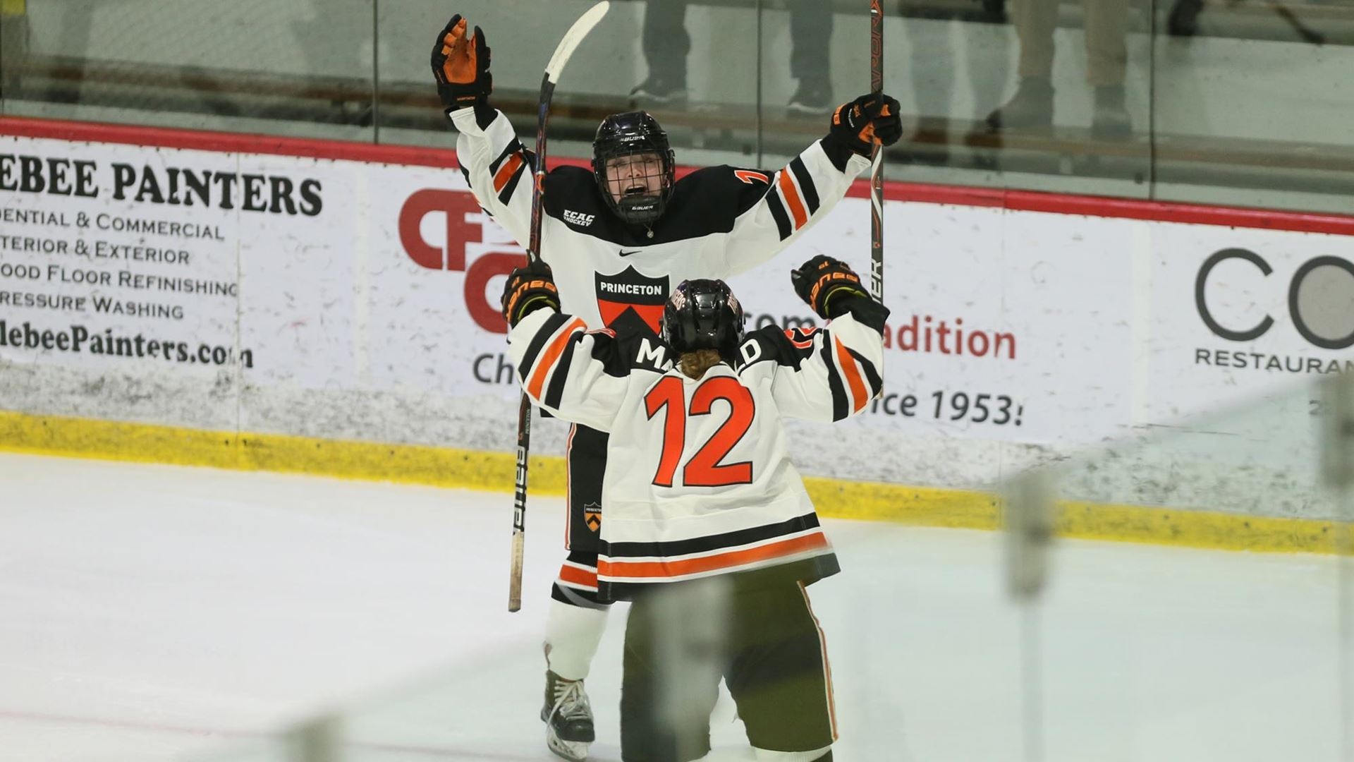 Princeton  Heads to First ECAC Hockey Final