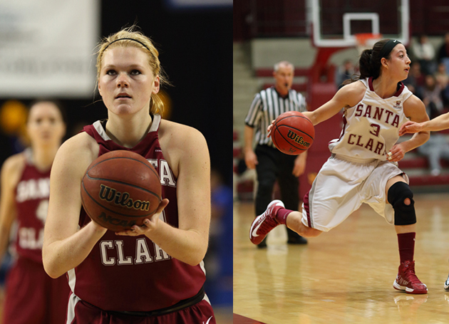 Four Women's Basketball Players Honored for Work in the Classroom