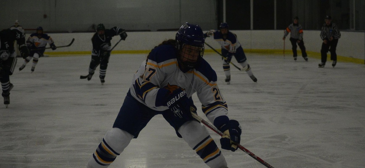 Women's Ice Hockey Fall 5-1 to the Mustangs