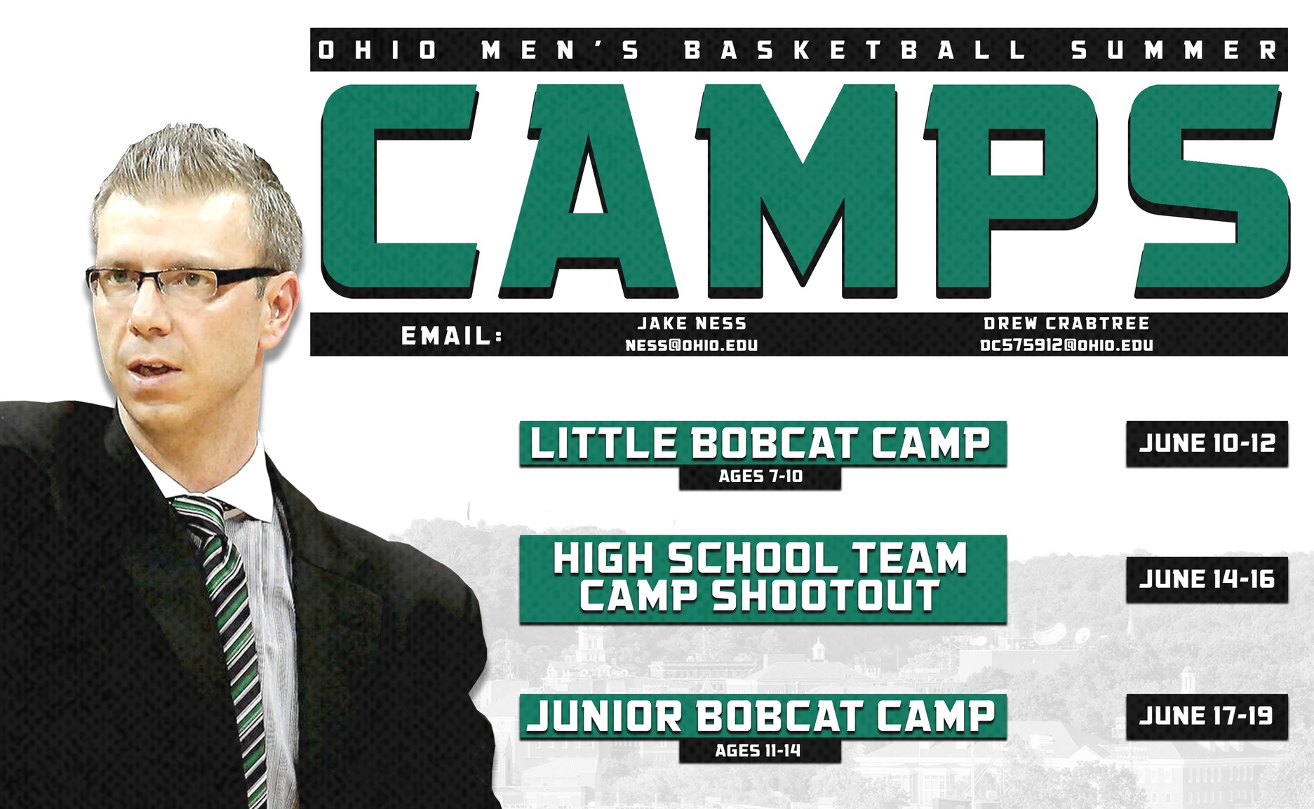 Ohio Men's Basketball to Hold Summer Camps