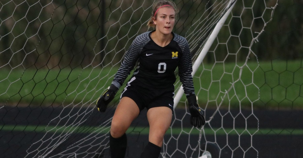 Anheuser with 17 saves in 1-0 loss at Madonna