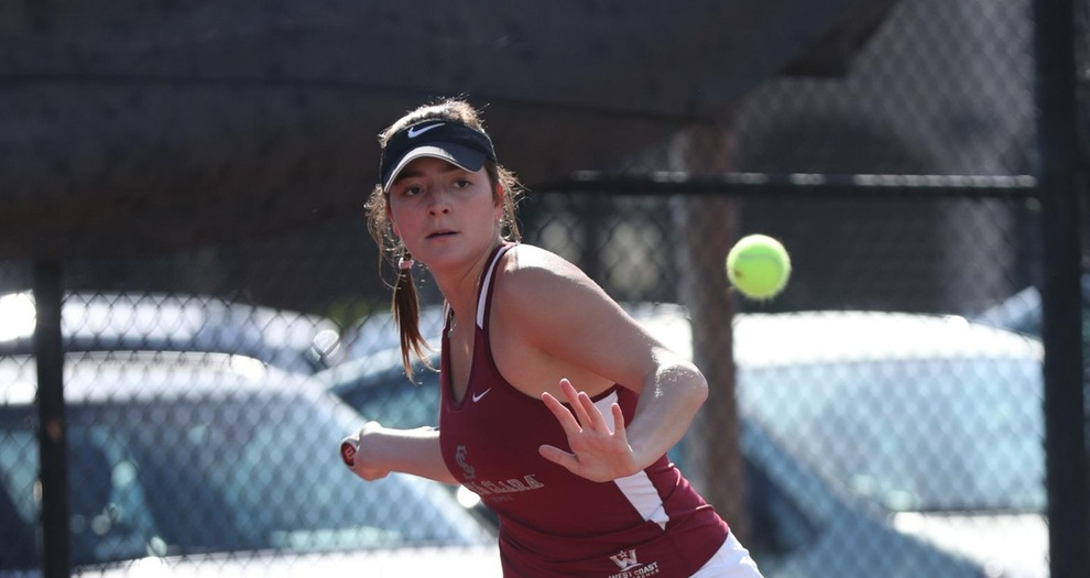 Women's Tennis Takes Down BYU, 4-1 on Saturday
