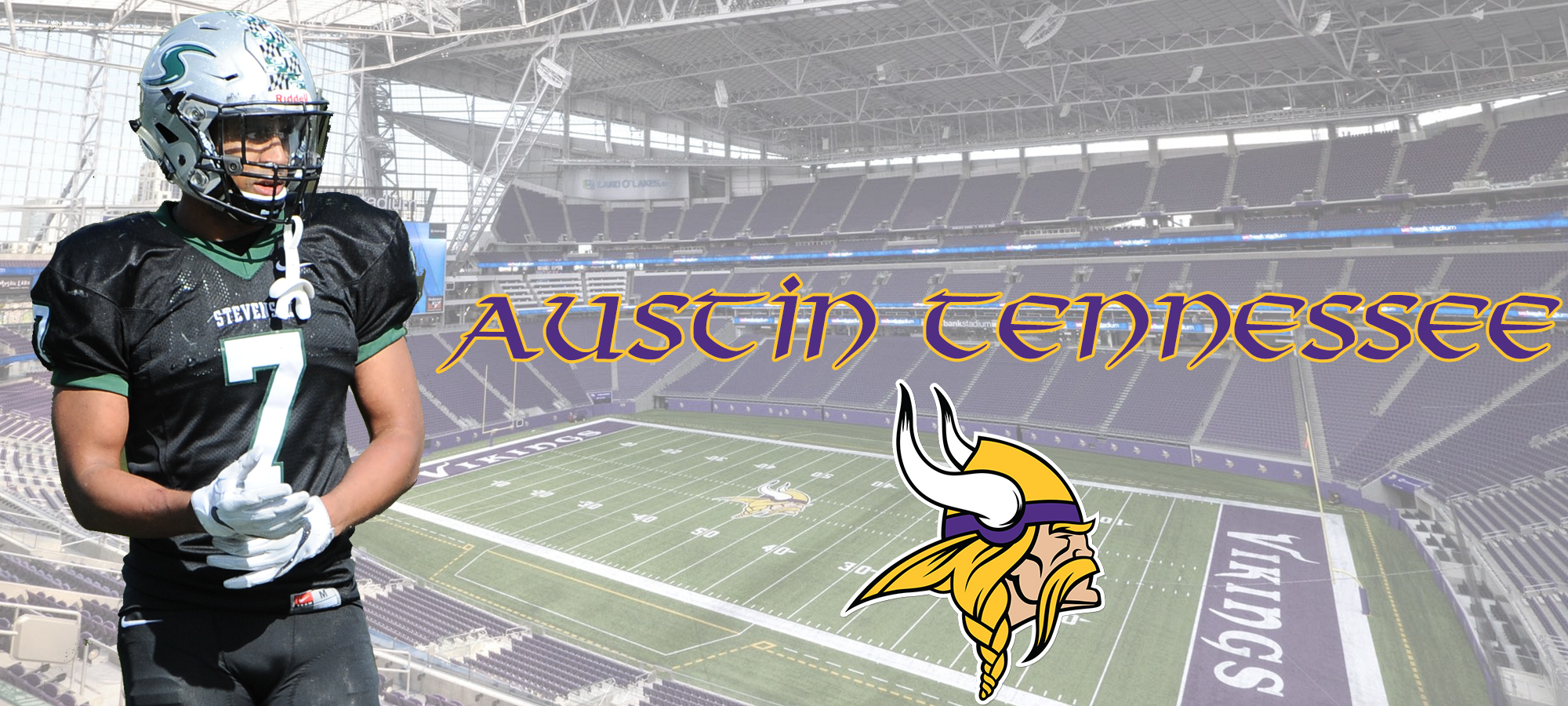Stevenson's Austin Tennessee Signs With Minnesota Vikings