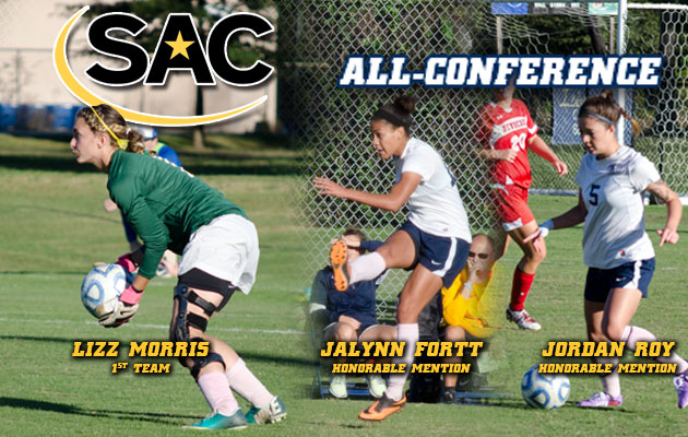 Women's Soccer Has Trio Tabbed All-Conference