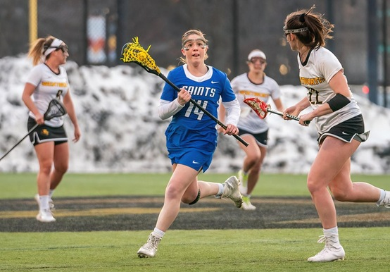 WOMEN'S LACROSSE BOUNCES BACK WITH 15-5 WIN AT NORWICH