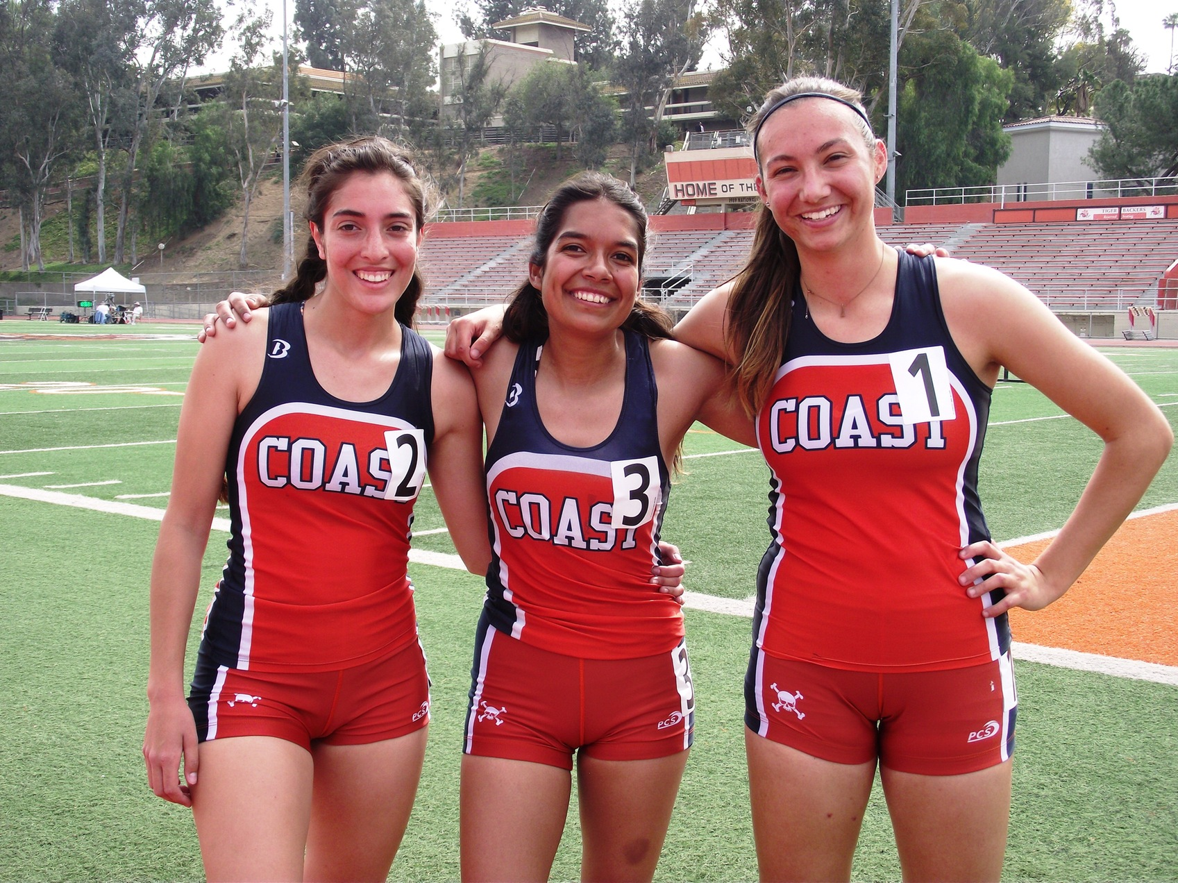 Pirate women go 1-2-3 at OEC Multi-Event Championships
