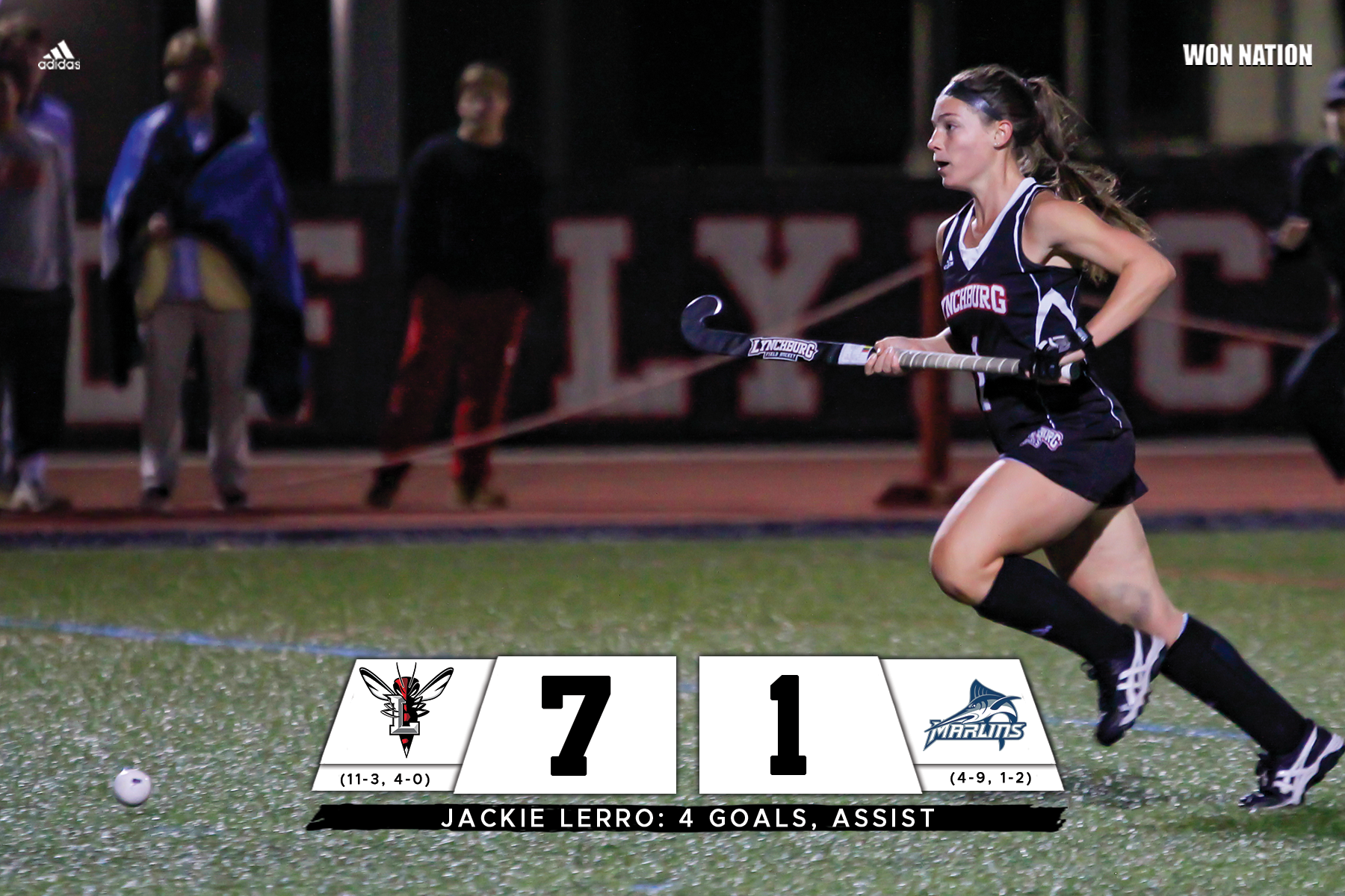 No. 19 field hockey stays undefeated in ODAC play
