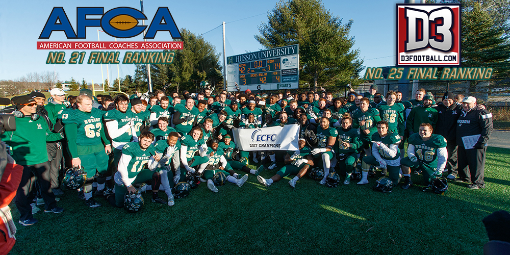Football Ranked No. 21 in Final AFCA Poll and No. 25 in Final D3Football.com Poll