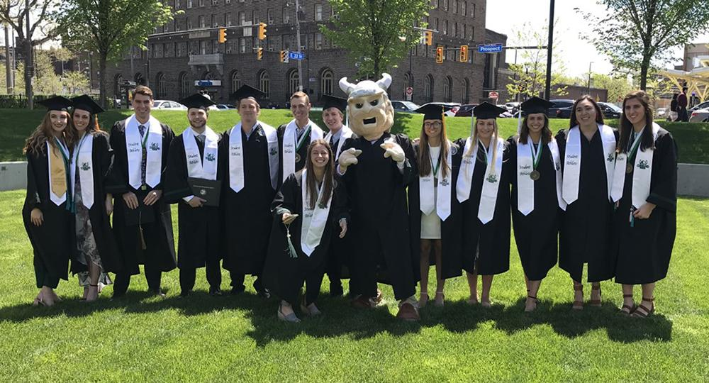 45 Student-Athletes Participate in Cleveland State's Graduation Ceremonies