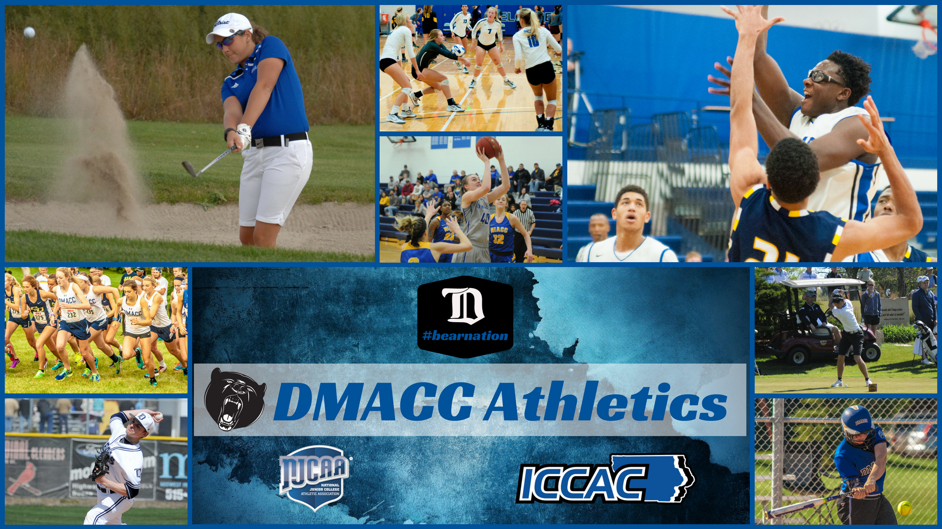 DMACC Athletics Collage