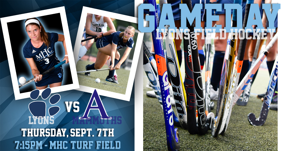 Mount Holyoke takes on Amherst in field hockey action on Thursday, September 7th at 7:15pm