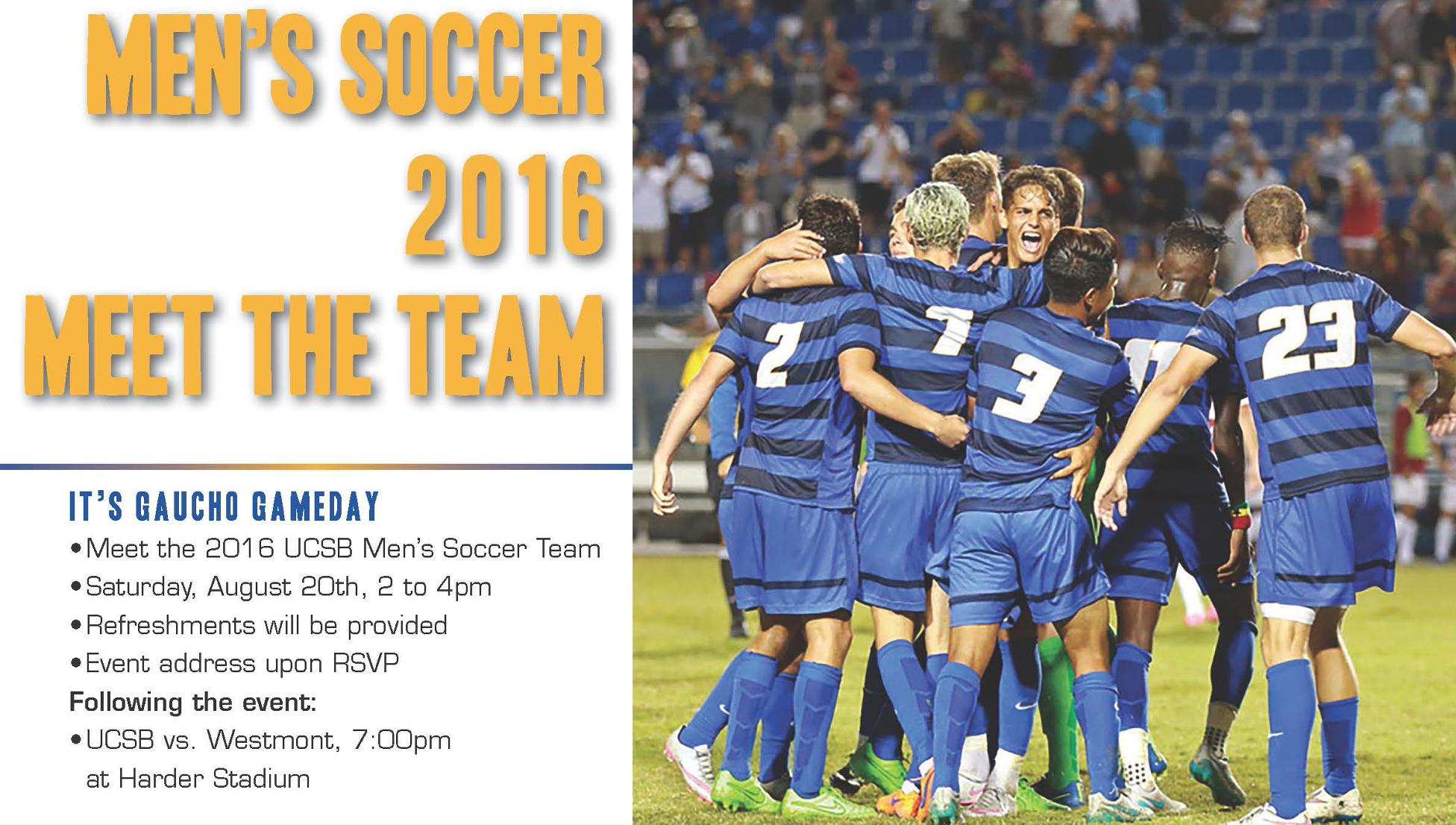 Gauchos to Hold Annual Meet the Team Event on Aug. 20