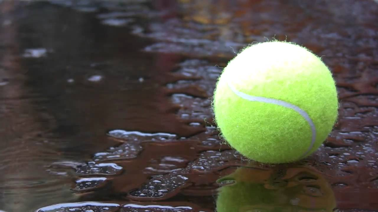 Rain Washes Away Singes in Women's Tennis' Match with Dickinson