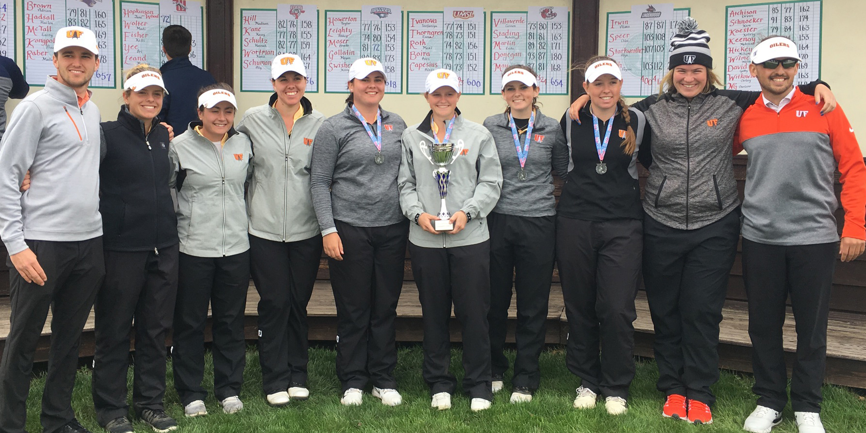 Multiple Records Set in 19-Shot Win at UIS Invite