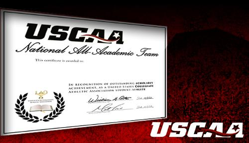 Eight Spring Pioneers Earn USCAA All-Academic Honors