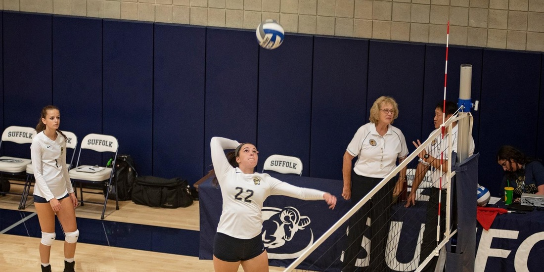Volleyball Blanks Salem State