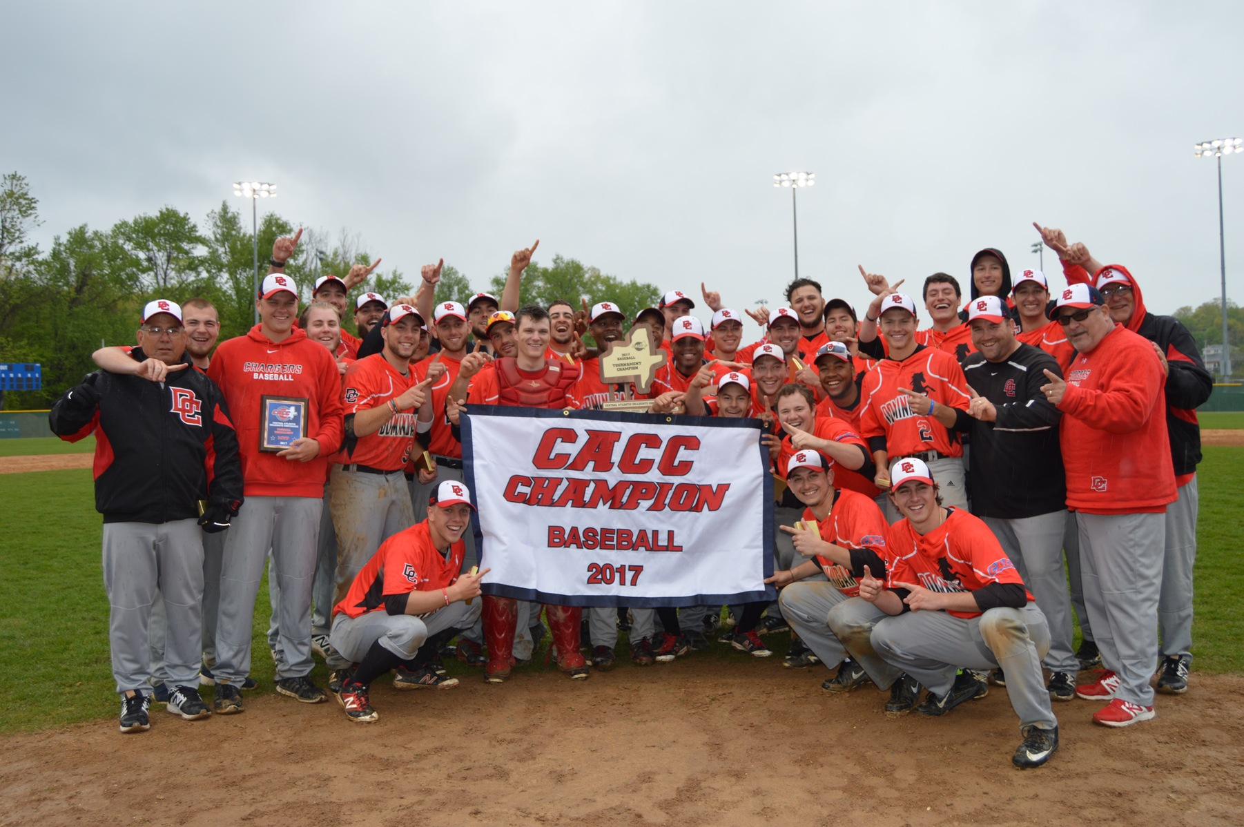 DOMINICAN WINS 2ND GAME AGAINST CHC TO CLAIM 2017 CACC BASEBALL CHAMPIONSHIP