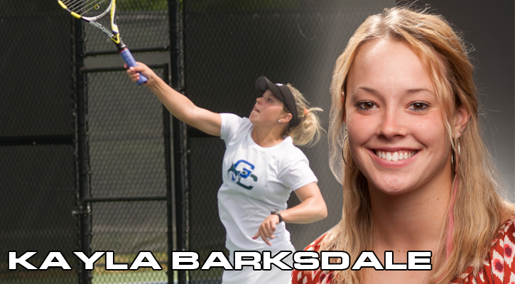 Barksdale Grabs GC Athlete of the Week Honors